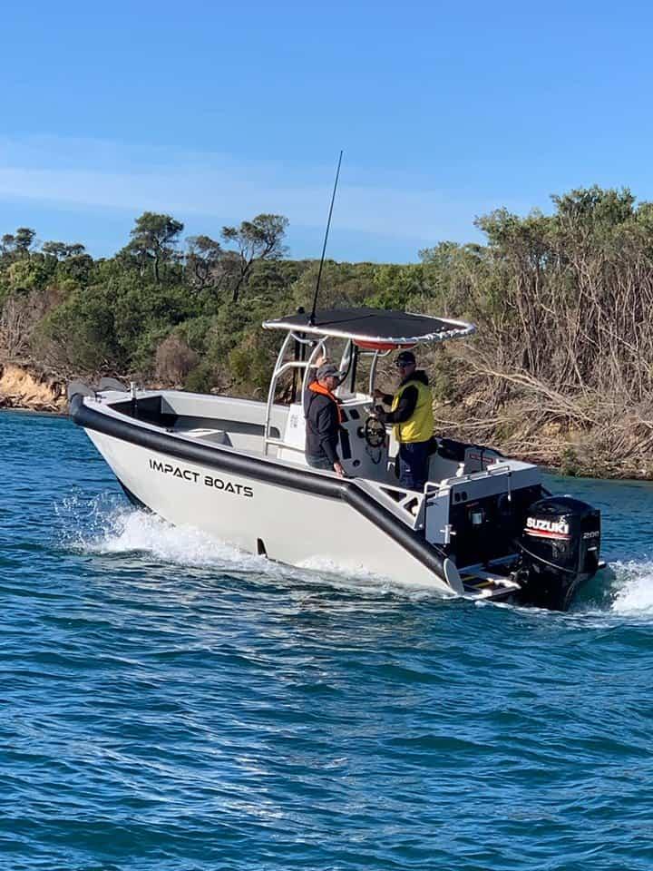 HDPE Vessel Impact Boats