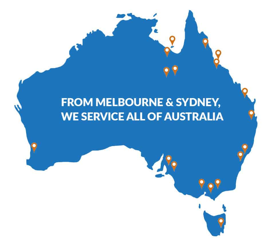 Maritime Survey Australia Service Areas