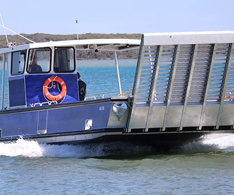 12m Landing Craft Mechanised (LCM) – Initial Commercial Vessel Survey