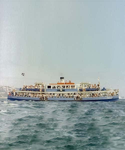 Wooden Ferry MV Lady Denman