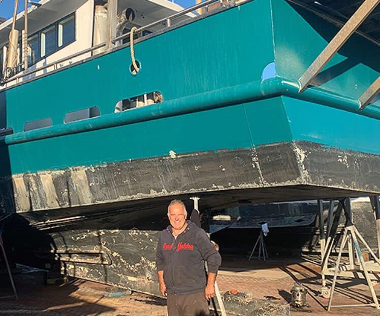 Fishing Vessel, Ann B – Propeller Shaft Survey