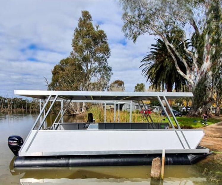Pontoon Boat – AMSA Exemption 2 Initial Survey
