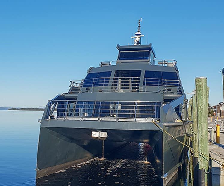 Catamaran, Spirit of the Wild –  Periodic In-water Vessel Survey