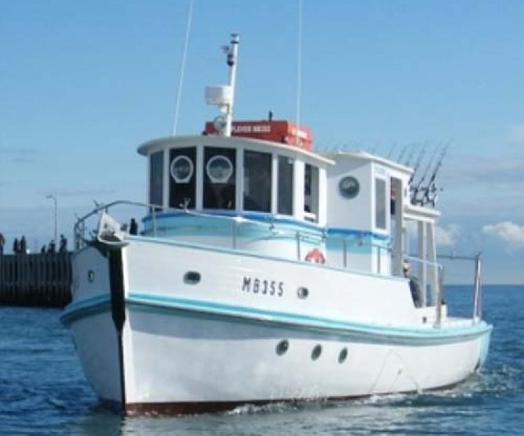Fishing Charter Vessel, Plover – Out of Water Inspection