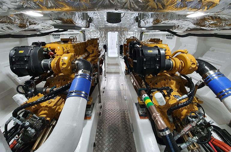 Al Dairah Pilot boat engine room